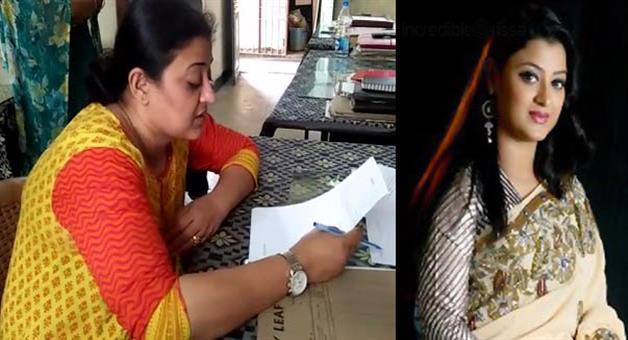 Khabar Odisha:youth-misbehaved-actress-usasi-mishra