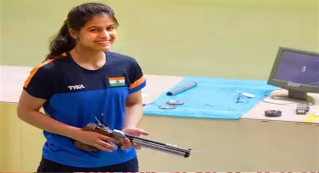 Khabar Odisha:youth-olympic-manu-bhaker-wins-gold-medal-in-10-miter-air-pistol